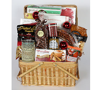 Holiday Party Basket in Southampton PA, Domenic Graziano Flowers