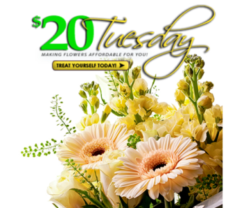 $20 Tuesday- Mixed Bouquet in Indianapolis IN, George Thomas Florist