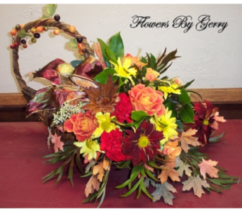 Cornucopia of Thanks  in Brentwood CA, Flowers By Gerry