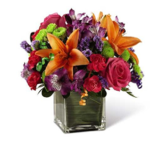 The FTD Birthday Cheer Bouquet in Elk Grove Village IL, Berthold's Floral, Gift & Garden