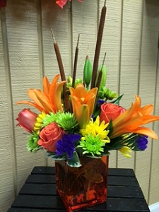 AUTUMN DELIGHT in Morehead City NC, Sandy's Flower Shoppe