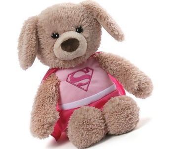 SuperGirl Plush in Princeton, Plainsboro, & Trenton NJ, Monday Morning Flower and Balloon Co.