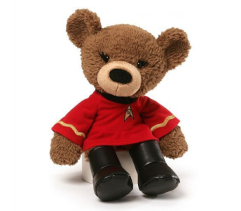 Star Trek Bear in Princeton, Plainsboro, & Trenton NJ, Monday Morning Flower and Balloon Co.