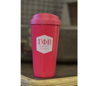 Gamma Phi Beta To-Go Mug in Ft. Collins CO, Palmer Flowers