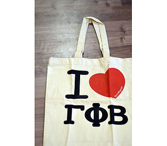 Gamma Phi Beta Tote in Ft. Collins CO, Palmer Flowers