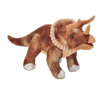 Triceratops Stuffed Animal - 17