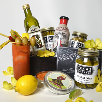 Barbox: Bloody Mary in Dallas TX, Dr Delphinium Designs & Events