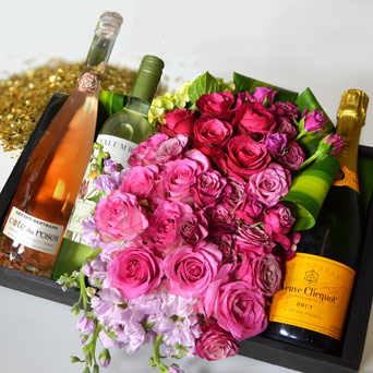 The Rose Gold Box in Dallas TX, Dr Delphinium Designs & Events