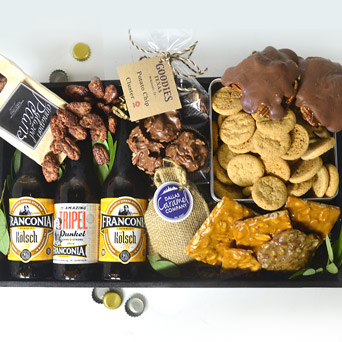 Southern Gentleman Gift Basket in Dallas TX, Dr Delphinium Designs & Events
