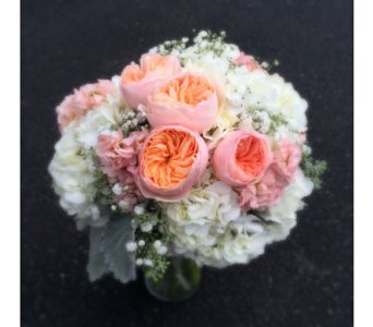 Romantic Blush in Schofield WI, Krueger Floral and Gifts