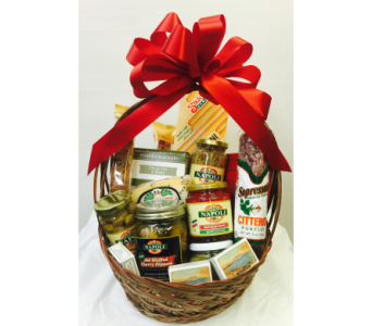 Italian Food Gift Basket in Waterbury CT, The Orchid Florist