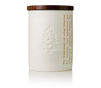 Frasier Fir Northwoods Heritage Candle in Detroit and St. Clair Shores MI, Conner Park Florist
