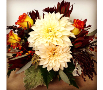Sophisticated Fall - Centerpiece - All-Around in Wyoming MI, Wyoming Stuyvesant Floral
