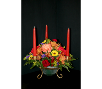 Autumn Elegance in Ogdensburg NY, Basta's Flower Shop