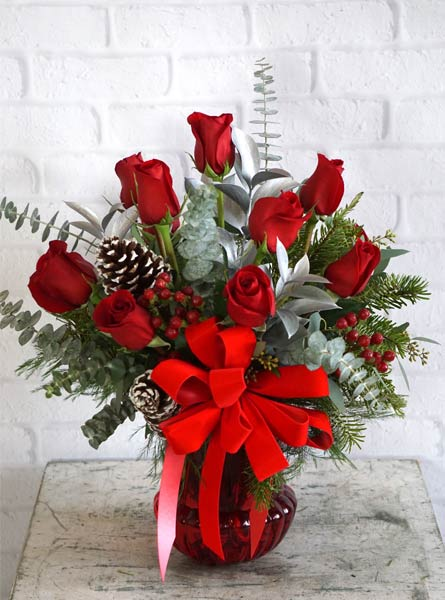 Yuletide Greetings in Fredericksburg VA, Heaven Scent Florist