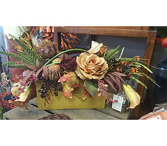 Silk Fall Arrangement in Tampa FL, Buds, Blooms & Beyond