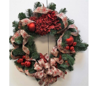 Christmas Wreath in Tampa FL, Buds, Blooms & Beyond