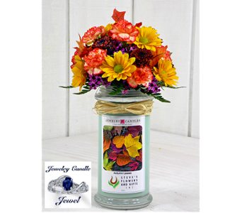 Jewelry Candle-Autumn Leaves in Indianapolis IN, Steve's Flowers and Gifts