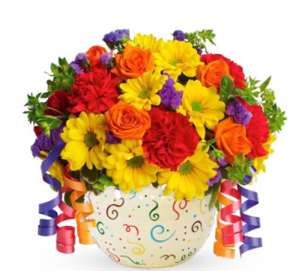 Celebrations Bowl Bouquet in Birmingham AL, Norton's Florist