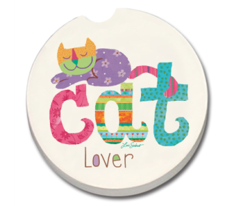 Cat Lover Coaster in Bonita Springs FL, Heaven Scent Flowers Inc.