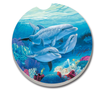 Dolphin Lovers Coaster in Bonita Springs FL, Heaven Scent Flowers Inc.