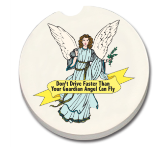 Guardian Angel Coaster in Bonita Springs FL, Heaven Scent Flowers Inc.