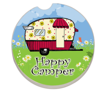 Happy Camper Coaster in Bonita Springs FL, Heaven Scent Flowers Inc.