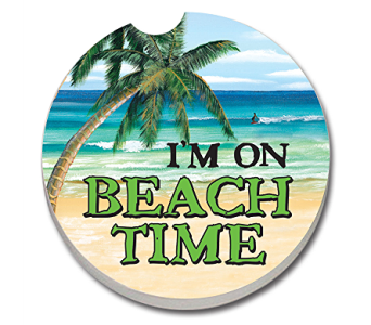 I'm On Beach Time Coaster in Bonita Springs FL, Heaven Scent Flowers Inc.