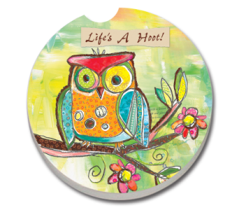 Life's A Hoot Coaster in Bonita Springs FL, Heaven Scent Flowers Inc.