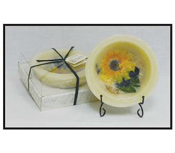 Sunflower, Lemon, Vanilla Candle in Bonita Springs FL, Heaven Scent Flowers Inc.