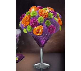 Halloween Grape Martini in Campbell CA, Citti's Florists