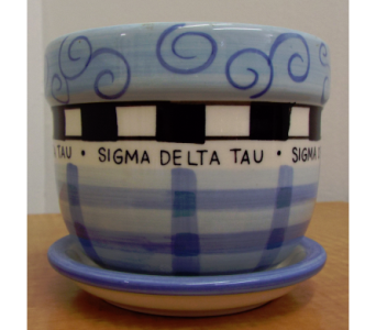 Sigma Delta Tau Ceramic in Lawrence KS, Owens Flower Shop Inc.