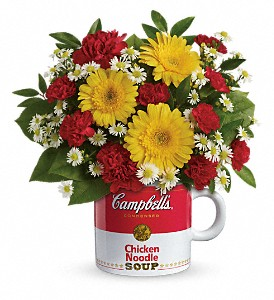 Campbell's Healthy Wishes by Teleflora in Warsaw KY, Ribbons & Roses Flowers & Gifts