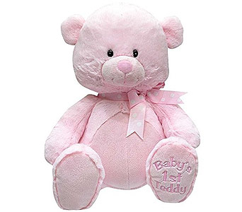 My First Lullaby Pink Teddy 10