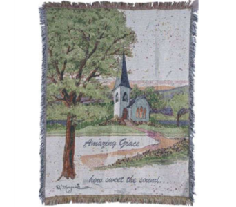 Amazin Grace Sympathy Throw in Norristown PA, Plaza Flowers