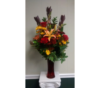 Large Fall Vase in Athens GA, Flower & Gift Basket