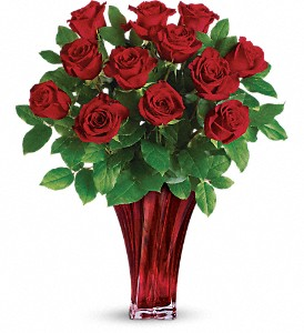 Teleflora's Legendary Love Bouquet in Shebyville IN, Raindrops N Roses
