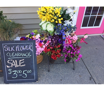 Silk Flower Clearance in Cary NC, Cary Florist