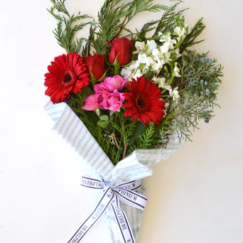 Premium Winter Bouquet for Park Cities Dance in Dallas TX, Dr Delphinium Designs & Events