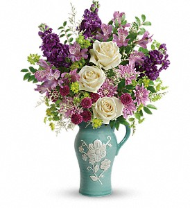 Teleflora's Artisanal Beauty Bouquet in Jamesburg NJ, Sweet William & Thyme