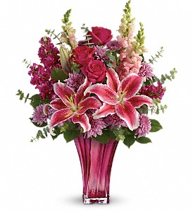 Teleflora's Bold Elegance Bouquet in Jersey City NJ, Entenmann's Florist