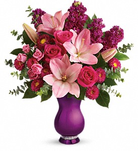 Teleflora's Dazzling Style Bouquet in New Castle DE, The Flower Place