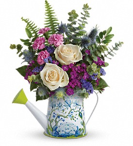 Teleflora's Splendid Garden Bouquet in West Bloomfield MI, Happiness is...Flowers & Gifts
