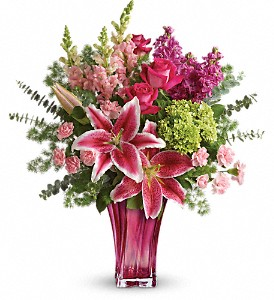 Teleflora's Steal The Spotlight Bouquet in Boston MA, Exotic Flowers