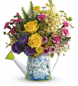 Teleflora's Sunlit Afternoon Bouquet in West Bloomfield MI, Happiness is...Flowers & Gifts