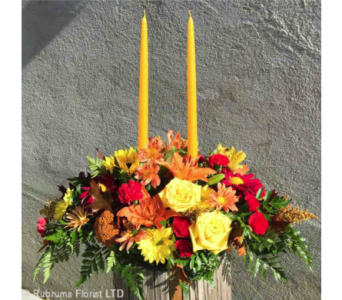 CANDLE LITE GATHERING in Ossining NY, Rubrums Florist Ltd.
