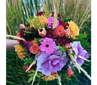 Designer's Choice- Seasonal Hand-tied Bouquet  in Kelowna BC, Creations By Mom & Me