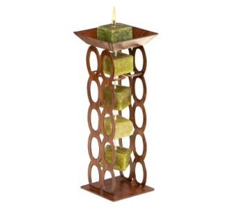 GEO Links Candle Holder in Bonita Springs FL, Heaven Scent Flowers Inc.