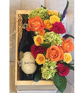 Wine & Flowers in Charleston SC, Tiger Lily Florist Inc.