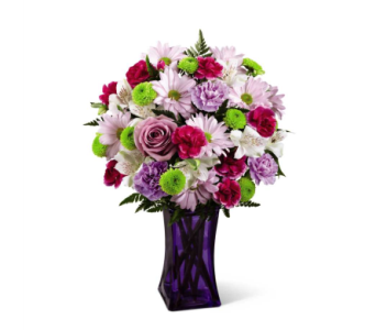 Purple Pop� Bouquet in Norfolk VA, The Sunflower Florist